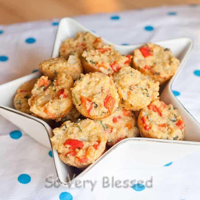 Quinoa Risotto Bites Recipe : So Very Blessed