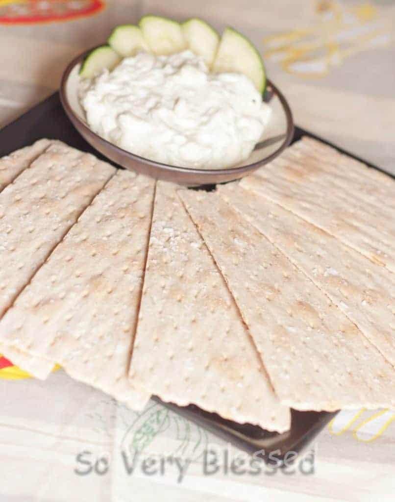 Creamy Cucumber Spread Recipe : So Very Blessed
