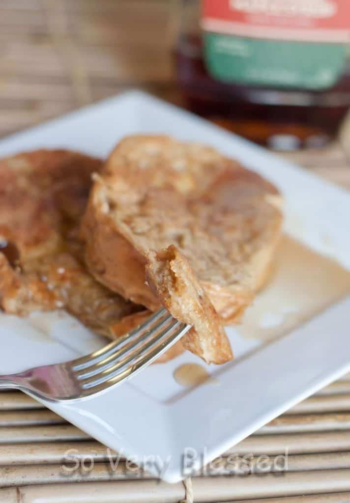Maple French Toast Recipe : So Very Blessed