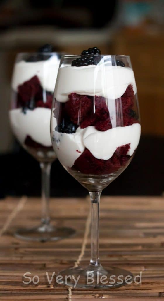 4th of July Parfaits : So Very Blessed