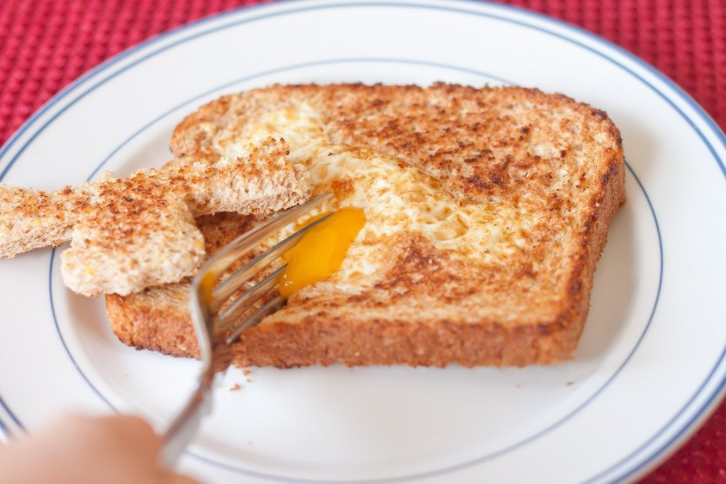 Eggs In A Hole Recipe : So Very Blessed