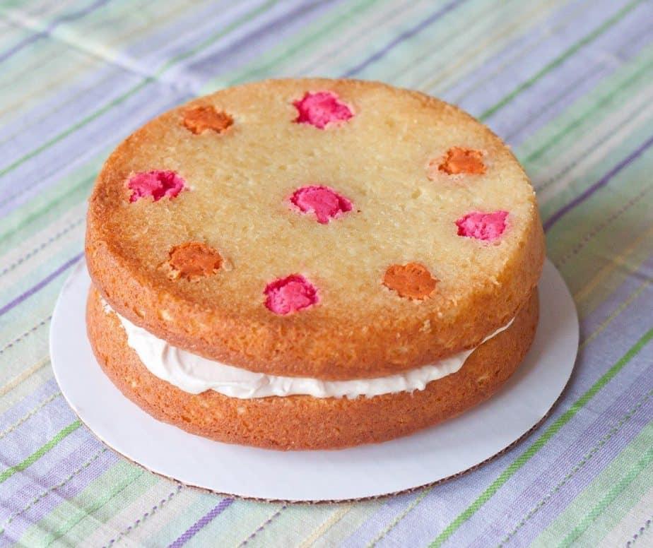 Polka Dot Cake : So Very Blessed