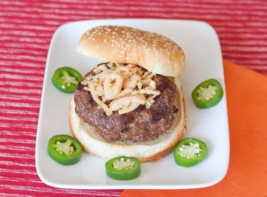 Jalapeno Popper Burger : So Very Blessed