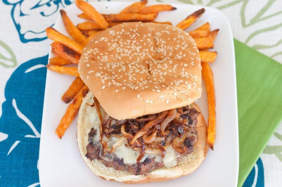French Onion Cheeseburgers : So Very Blessed