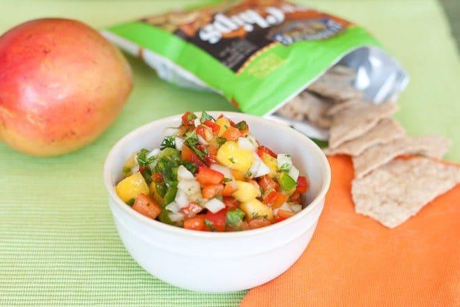 Mango Salsa Recipe : So Very Blessed