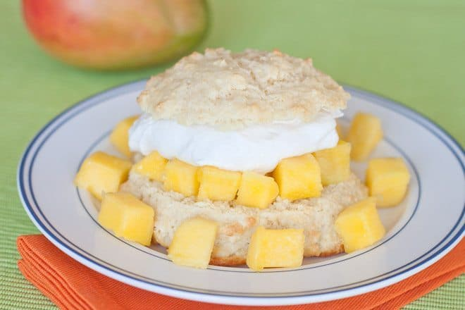 Mango Shortcake Recipe : So Very Blessed