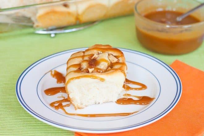 Caramel Apple Cinnamon Rolls : So Very Blessed
