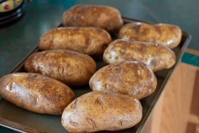 Roasted Garlic Twice Baked Potatoes Recipe : So Very Blessed