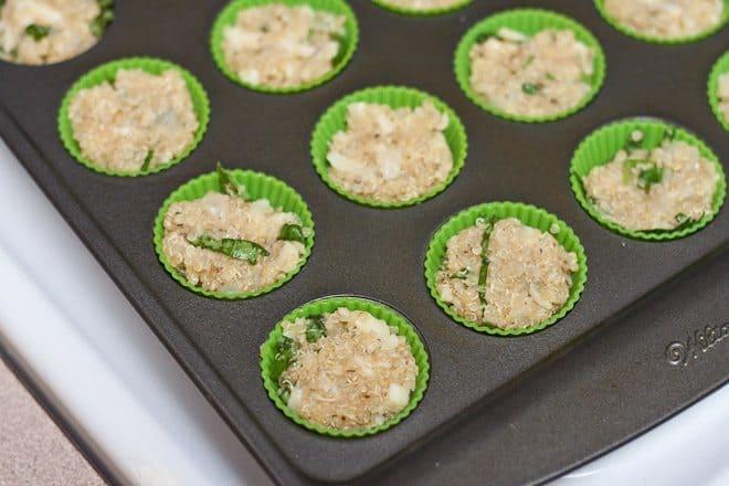 Cheesy Italian Herb Quinoa Bites : So Very Blessed