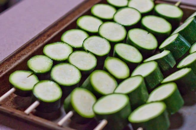 Grilled Parmesan Zucchini Recipe : So Very Blessed