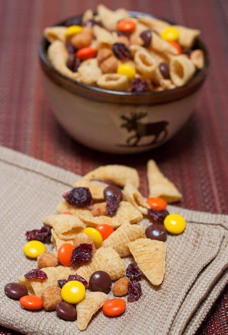 Fall Snack Mix Recipe : So Very Blessed