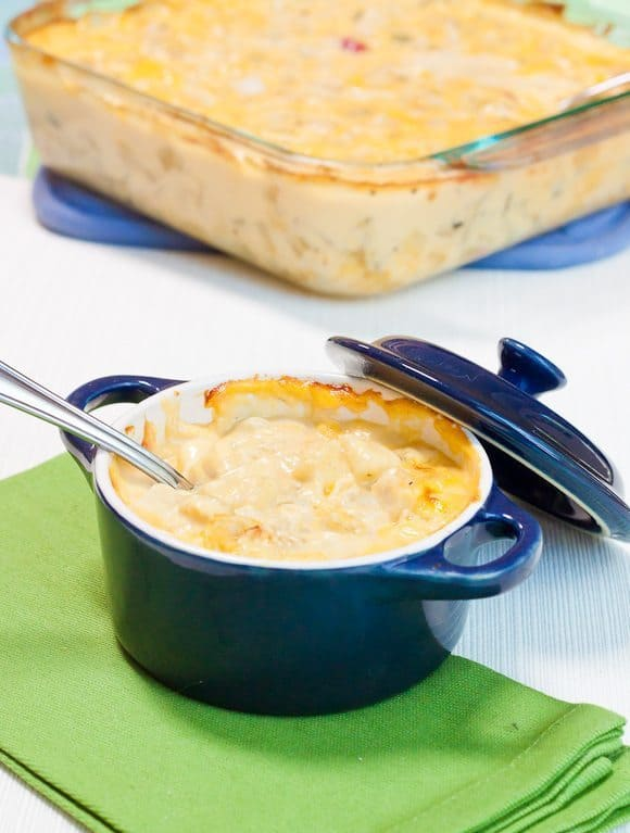 Becky's Cheesy Potato Casserole Recipe