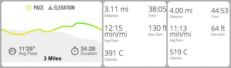 Half Marathon Training - Week 1 : So Very Blessed