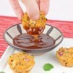 Barbecue Chicken Quinoa Bites Recipe