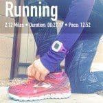 Half Marathon Training – Week 8