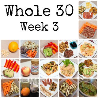 The Whole 30 - Week 3 : So Very Blessed