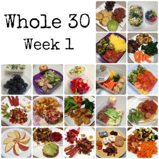 The Whole 30 - Week 1 : So Very Blessed