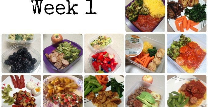 The Whole 30 – Week 1