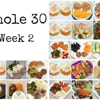 The Whole 30 - Week 2 : So Very Blessed