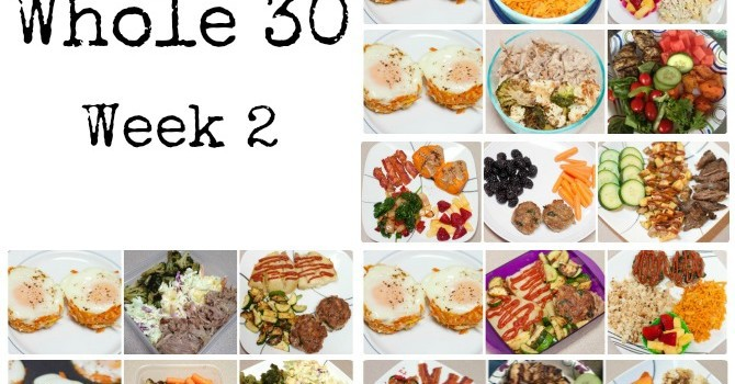 The Whole 30 – Week 2