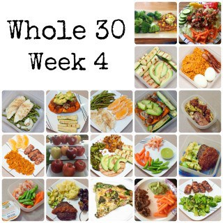 The Whole 30 - Week 4 : So Very Blessed