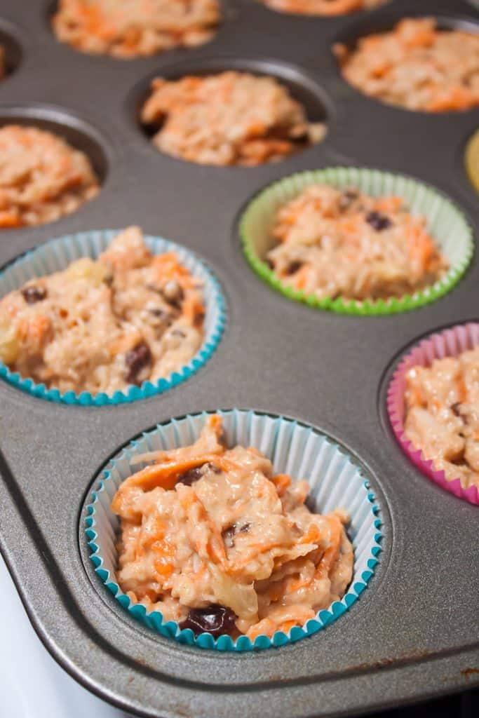 Whole Wheat Morning Glory Muffins Recipe : So Very Blessed