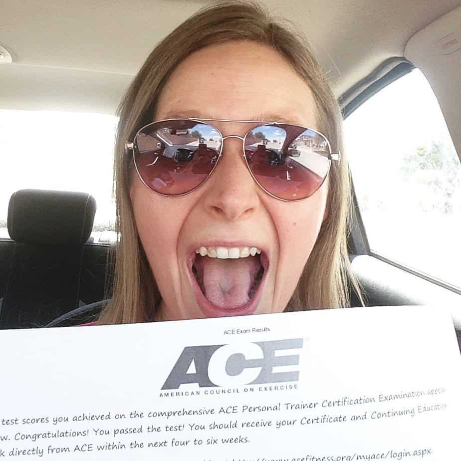 I Am Now An ACE Certified Personal Trainer : So Very Blessed