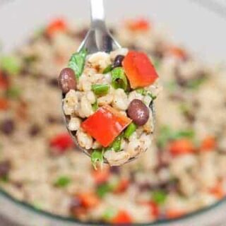Southwestern Barley Salad : So Very Blessed