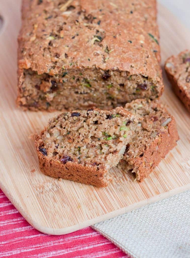 Whole Wheat Zucchini Bread Recipe : So Very Blessed