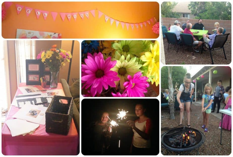Surprise Going Away Party : So Very Blessed