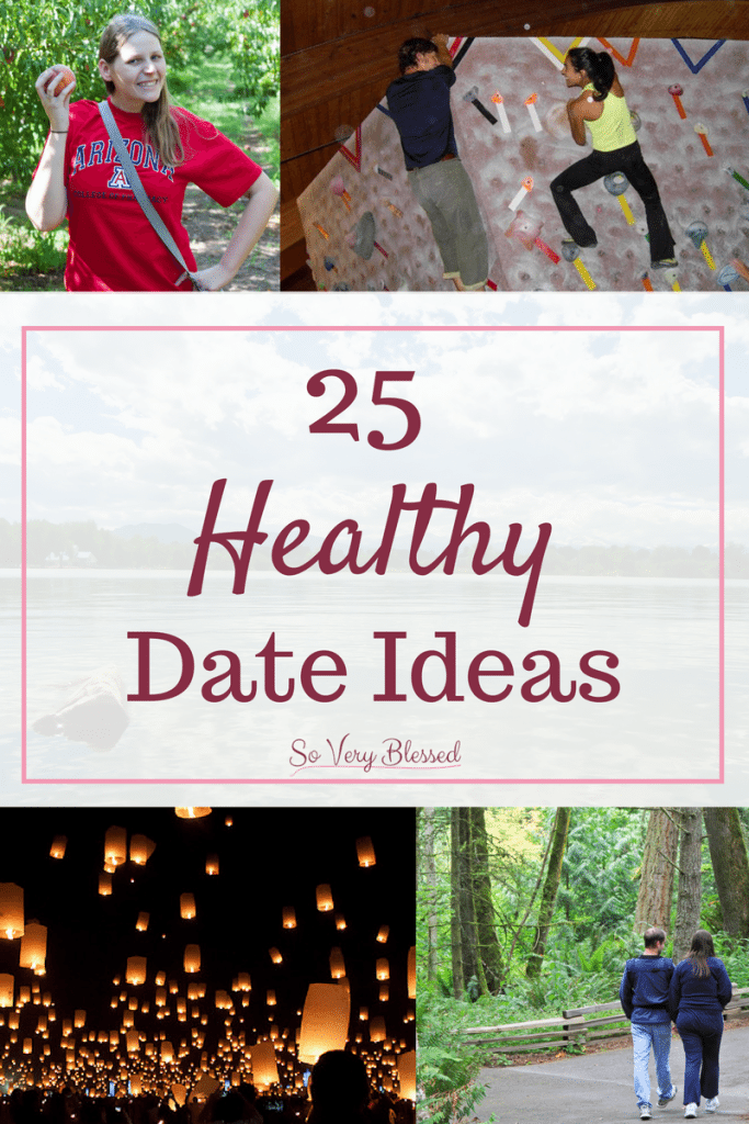 25 Healthy Date Ideas - Check out these creative, fun, and budget-friendly date ideas to help keep you both on track with your weight loss journeys. You'll be happy, healthy, and falling more in love with each other date!
