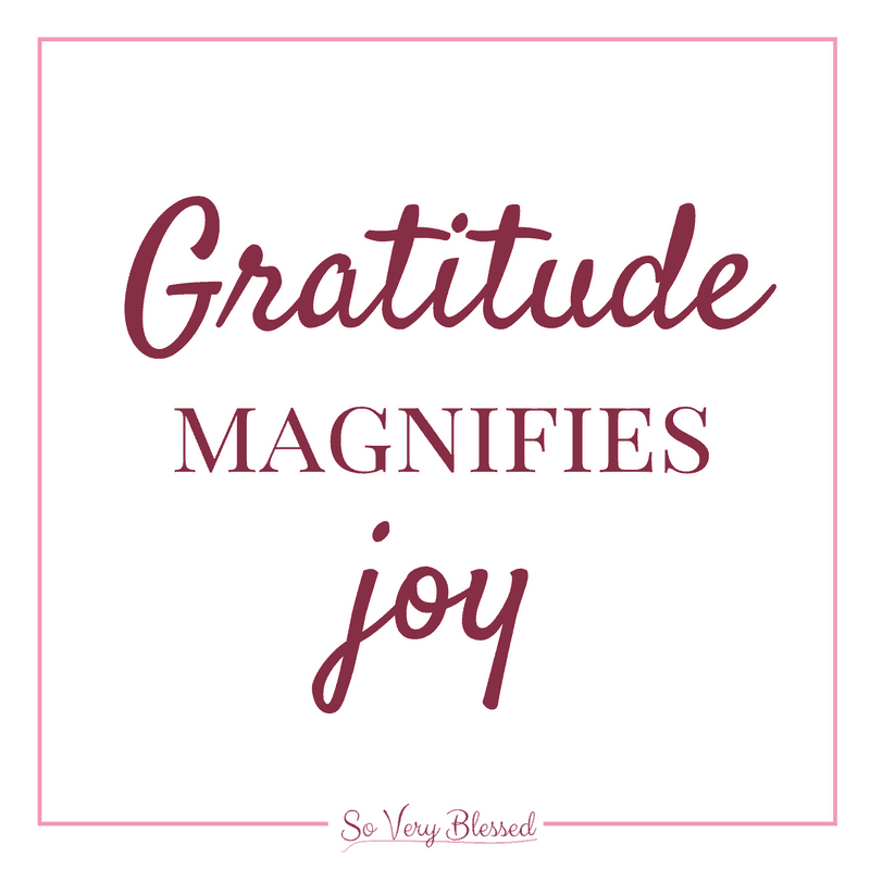 """Finding Magnificent Joy in Monday Mornings : So Very Blessed - """"Joy"""" isn't typically a word that describes Monday mornings, but you can beat those Monday blues and turnyour tedious drudgery into magnificent joy!"""