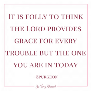 Tune My Heart to Sing Thy Grace : So Very Blessed - Instead of a list of resolutions, my focus for the year is living in freedom, accepting God's boundless grace.