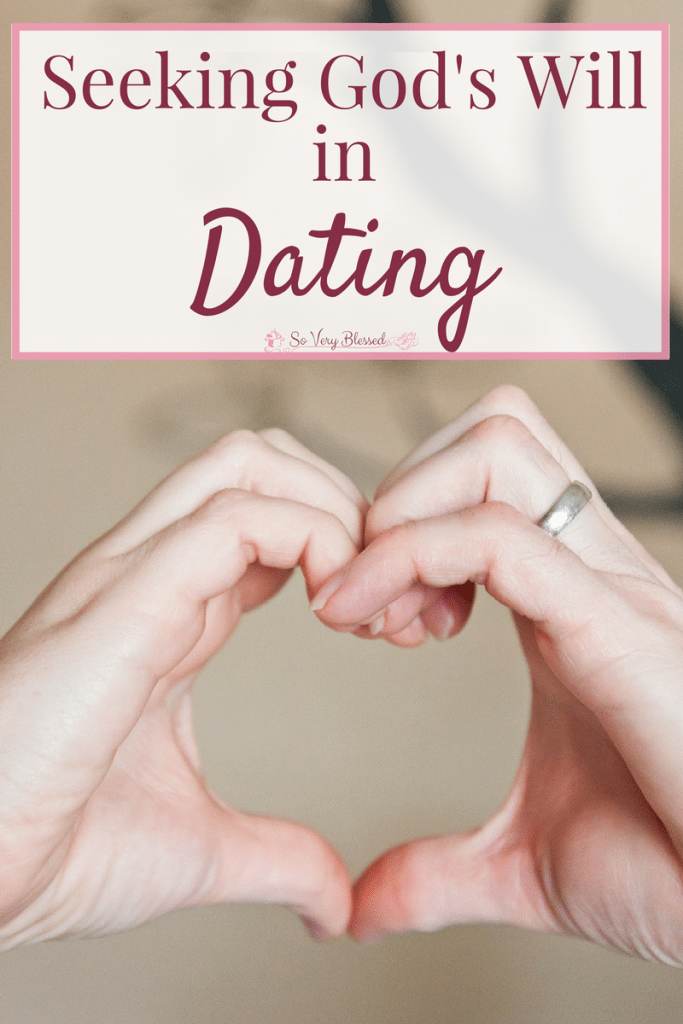 Seeking God's Will in Dating - Through the romance, excitement, awkwardness, and confusion of dating, these two prayers help me keep my eyes fixed on God.